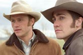 Heath Ledger och Jake Gyllenhaal i BROKEBACK MOUNTAIN. Foto: Kimberley French © 2005 Focus Features LLC.
